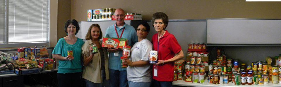TCOG Employee Food Drive 2012