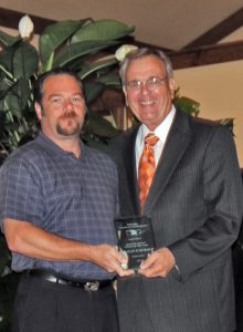 Dr. Alan Scheibmeir, Grayson County Citizen of the Year 2012