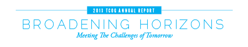 2013 Annual Report: Broadening Horizons