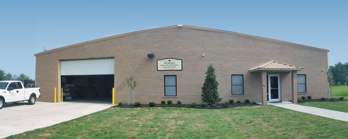 Texoma Housing Partners Maintenance Building