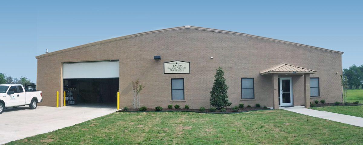Texoma Housing Partners Maintenance Building