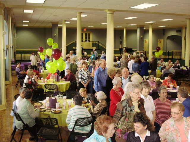 Joshua Brummett/Herald Democrat - Hundreds of participants in the Retired and Senior Volunteer Program were honored at a banquet on Monday afternoon in Sherman.