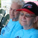 Foster Grandparents at the Roughriders Game