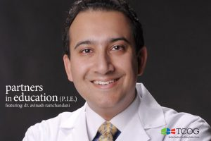 Partners in Education Presents Pain Management with Dr. Avinash Ramchandani