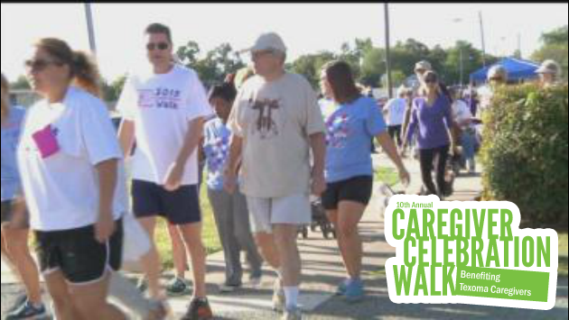 Caregiver Walk 2015 Photo courtesy of KTEN