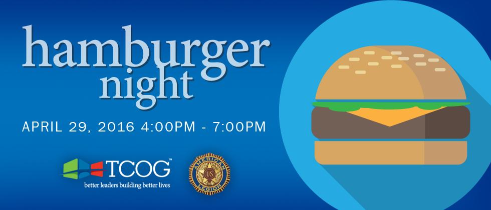 Hamburger Basket Night for VASH