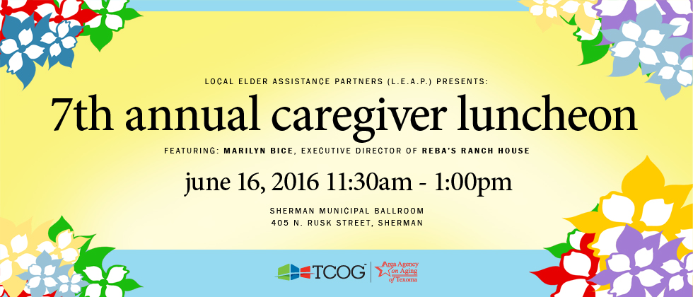 Caregiver Luncheon 2016