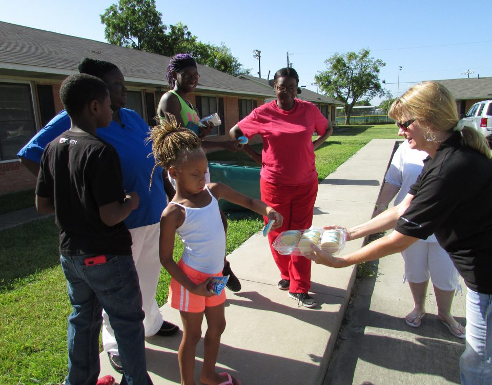 TCOG Eases Back to School Stress for Public Housing Children