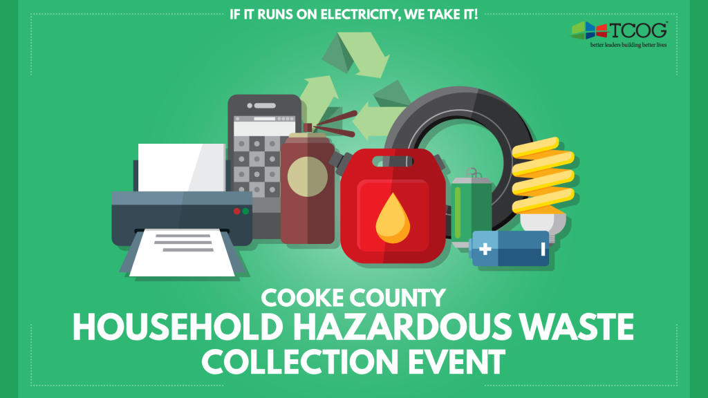 2017 Cooke County Household Hazardous Waste Collection Event