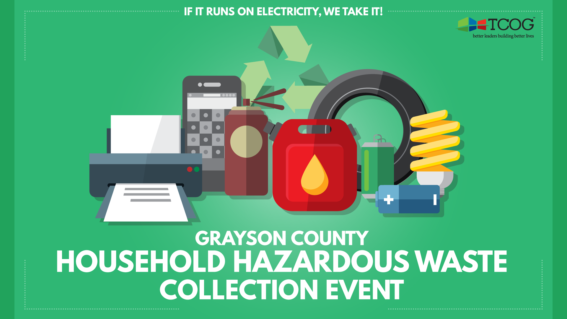 2017 Grayson County Household Hazardous Waste Collection Event