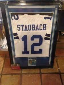 Autographed by Roger Staubach