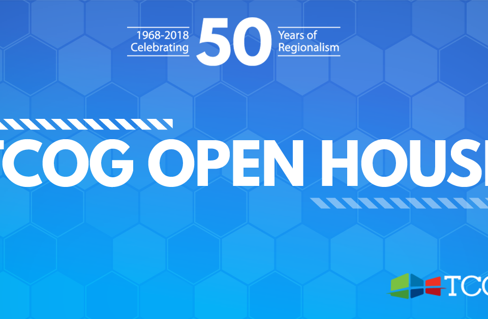 TCOG Open House - Celebrating 50 Years of Regionalism