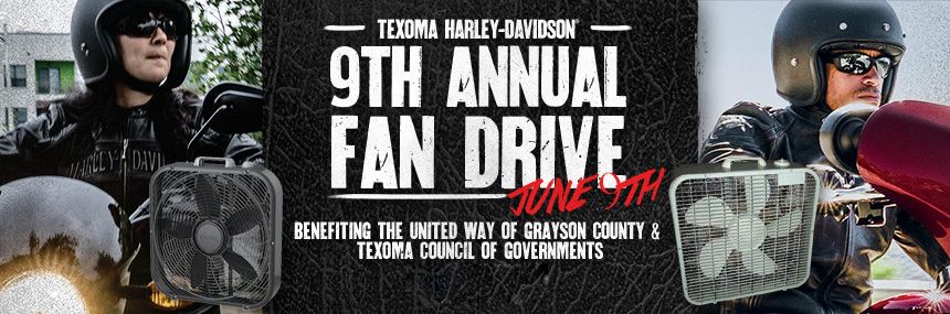 9th Annual Fan Drive benefiting the United Way of Grayson County & Texoma Council of Governments