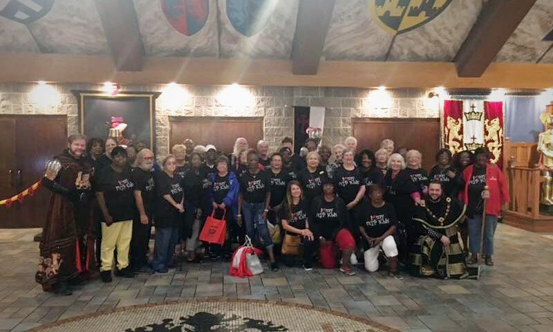 Celebrating the Texoma Foster Grandparents at Medieval Times