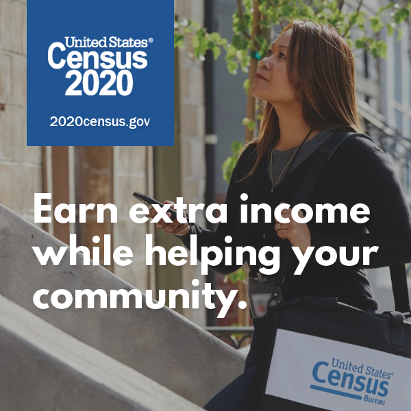 2020 Census: Apply today